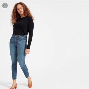 NWT Everlane High Rise Skinny Jeans 28